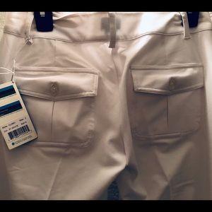 White Golf Pants